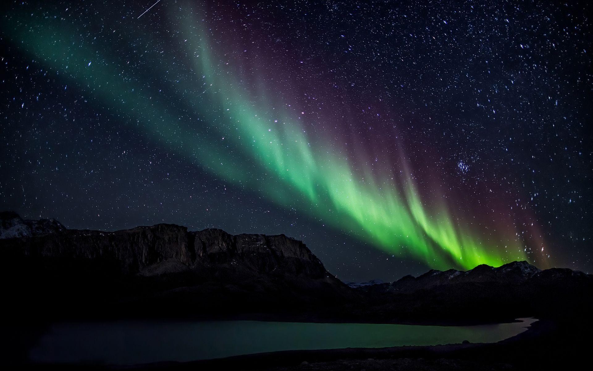 aurora borealis nature -#main