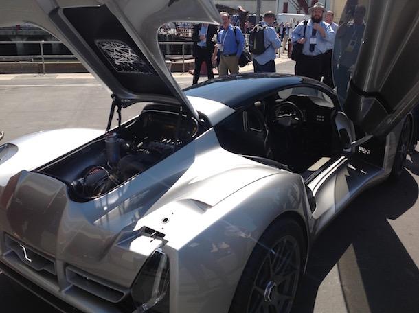 divergent 3d supercar